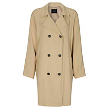 Buy Oui Double Breasted Coat, Incense Online at johnlewis.com