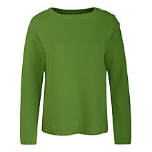 Buy Seasalt Fisher Knot Jumper, Samphire Online at johnlewis.com