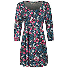 Buy Seasalt Treecreeper Printed Tunic, Crazy Daisy Wreckage Online at johnlewis.com