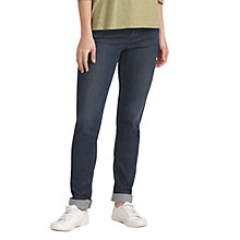 Buy Seasalt Hellandbridge Skinny Jeans, Denim Dark Wash Online at johnlewis.com