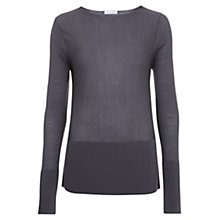 Buy Nicole Farhi Austin Merino Wool Jumper, Slate Online at johnlewis.com