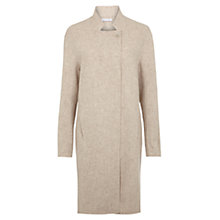 Buy Nicole Farhi Semper Wool-Blend Coat, Taupe Melange Online at johnlewis.com