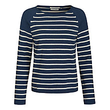 Buy Seasalt Blenny Stripe Jumper, Tolgus Fathom Online at johnlewis.com