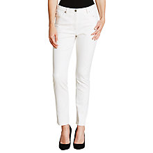 Buy Nicole Farhi 5-Pocket Slim Jeans, White Online at johnlewis.com