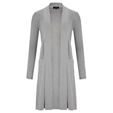 Buy Viyella Extra Longline Merino Cardigan, Grey Online at johnlewis.com