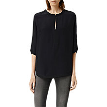 Buy AllSaints Acre Top, Ink Blue Online at johnlewis.com
