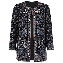 Buy French Connection Fast Ryo Stitch Jacket, Black Online at johnlewis.com