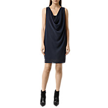 Buy AllSaints Adyn Dress, Gunmetal Online at johnlewis.com