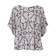 Buy French Connection Yoko Bead Top, Classic Cream Online at johnlewis.com