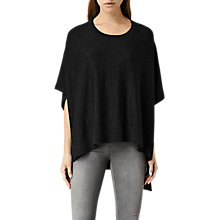 Buy AllSaints Merino Wool Arple Cape Online at johnlewis.com