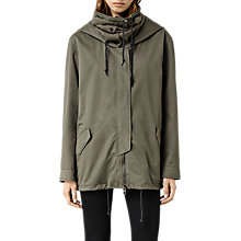 Buy AllSaints Arton Jacket, Khaki Green Online at johnlewis.com