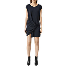 Buy AllSaints Ame Sleeveless Dress, Midnight Blue Online at johnlewis.com