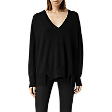 Buy AllSaints Atlas V Neck Jumper Online at johnlewis.com