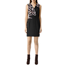 Buy AllSaints Silk Azure Chase Dress, Night Online at johnlewis.com