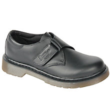 Buy Dr Martens Children's Jerry Rip Tape Shoes, Black Online at johnlewis.com
