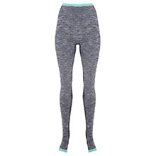 Buy Manuka Seamless Stirrup Leggings, Black/Grey Online at johnlewis.com