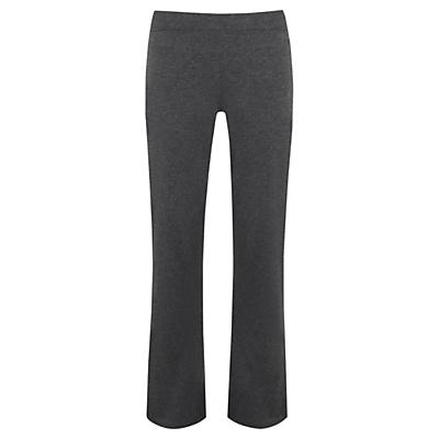 Manuka Relax Bootleg Yoga Pants, Grey