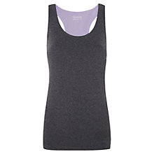 Buy Manuka Lotus Racer Top, Charcoal Online at johnlewis.com