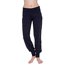 Buy Manuka Awaken Cuff Yoga Pants, Violet Online at johnlewis.com