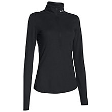 Buy Under Armour Streaker Half Zip Running Top, Black Online at johnlewis.com