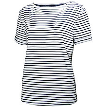 Buy Helly Hansen Women's Naiad Stripe T-Shirt, Navy/White Online at johnlewis.com