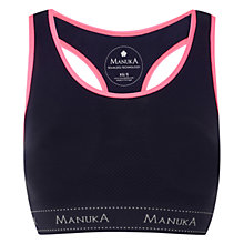 Buy Manuka Seamless Bra Top, Violet/Coral Online at johnlewis.com