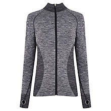 Buy Manuka Active Seamless Jacket, Violet Melange Online at johnlewis.com