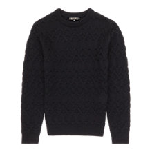 Buy Reiss Madison Cashmere Blend Jumper, Midnight Online at johnlewis.com