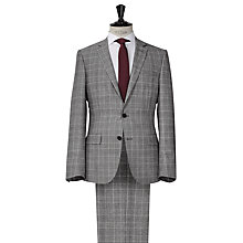 Buy Reiss Breburn Check Wool Suit, Charcoal Online at johnlewis.com