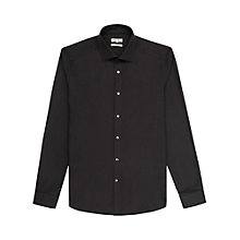 Buy Reiss Blake Slim Fit Cotton Shirt, Mid Blue Online at johnlewis.com