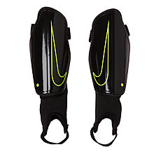 Buy Nike Children's Charge 2.0 Football Shin Guards, Black Online at johnlewis.com