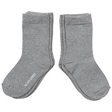 Buy Polarn O. Pyret Children's Classic Plain Socks, Pack of 3 Online at johnlewis.com