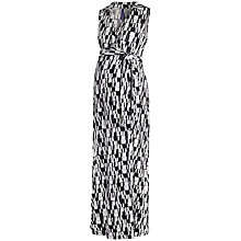 Buy Séraphine Bianka Maxi Maternity Dress, Black/White Online at johnlewis.com