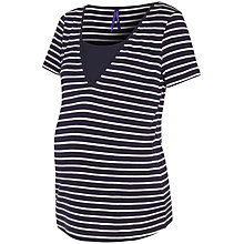 Buy Séraphine Funmi Stripe Maternity Nursing Top, Navy/White Online at johnlewis.com