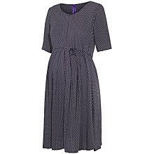 Buy Séraphine Winnie Maternity Dress, Navy/White Online at johnlewis.com