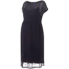 Buy Séraphine Vienna Maternity Dress, Navy Online at johnlewis.com
