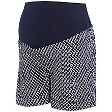 Buy Séraphine Marietta Maternity Shorts, Blue/White Online at johnlewis.com