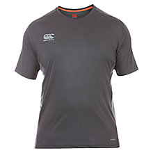 Buy Canterbury of New Zealand VapoDri Superlight Logo T-Shirt, Grey Online at johnlewis.com