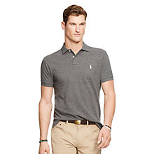 Buy Polo Ralph Lauren Slim Fit Polo Shirt, Heather Online at johnlewis.com