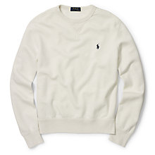 Buy Polo Ralph Lauren Long Sleeve Crew Neck Jersey Top Online at johnlewis.com