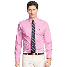 Buy Polo Ralph Lauren Striped Shirt, Pink/White Online at johnlewis.com