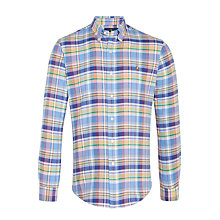 Buy Polo Ralph Lauren Check Shirt, Multi Online at johnlewis.com