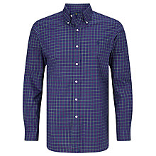 Buy Polo Ralph Lauren Button Down Shirt, Navy/Green Online at johnlewis.com