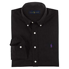 Buy Polo Ralph Lauren Button Down Shirt, Polo Black Online at johnlewis.com
