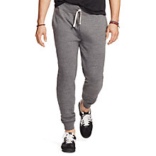 Buy Polo Ralph Lauren Ribbed Athletic Trousers, Bowery Heather Online at johnlewis.com