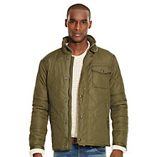 Buy Polo Ralph Lauren Dartmouth Lined Quilted Jacket, Madagascar Olive Online at johnlewis.com