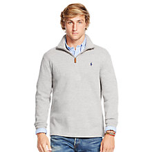 Buy Polo Ralph Lauren Long Sleeve Jersey Top, Heather Online at johnlewis.com