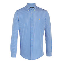 Buy Polo Ralph Lauren Stripe Shirt, Blue/White Online at johnlewis.com