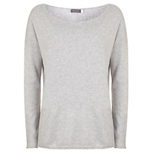 Buy Mint Velvet Blocked Knit, Grey/Silver Online at johnlewis.com