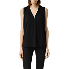 Buy AllSaints Nero Top, Black Online at johnlewis.com